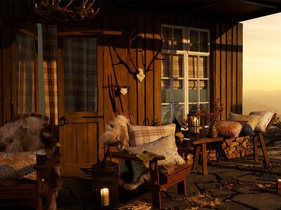 """Picture:Большая статья в Country Homes & Interiors о коллекции """"Forever Spring""""."""